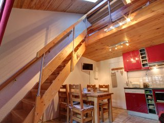 Iris 2 - triplex studio in central part of Chamonix