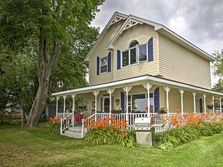 Pillar Point Home w/Furnished Deck on Lake Ontario