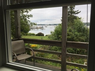 Harbor Cottage - harbor views in the village of Southwest Harbor