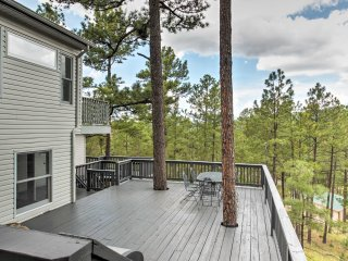Multi-Level Ruidoso House w/ Decks!