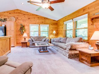 Forest view home w/ wrap-around deck - minutes to the lake & Wisp Resort!