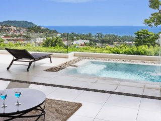 APPART SUPER  LUXE SEA VIEW 180° PISCINE PRIVEE - 3CHAM 6/8P  RESIDENCE 5 *****