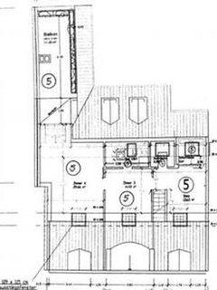 Floor plan excluding cloak room and workroom (4th floor)