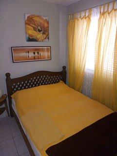 Zweites Schlafzimmer mit Sat-TV