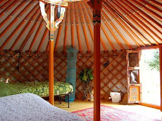 The Big Orange Yurt
