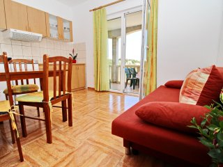 Apartments Veselka - One Bedroom Apartment with Terrace and Sea View (Apt 5)