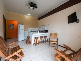 #1 La Fortuna Downtown Apartment with AC