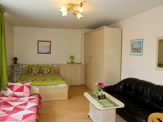 STUDIO APARTMENT WITH BIG SUNNY TERRACE  FOR RENT IN KLAIPEDA