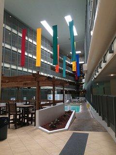 Building B pool area