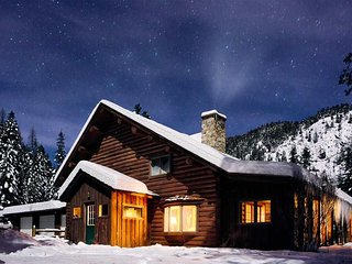 Grant Creek Lodge hike&ski, Family gatherings,Private, wildlife! King&Queens
