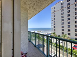 NEW! Beachfront 2BR Daytona Beach Shores Condo!