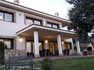 La Robledana. Espectacular casa en Sierra Oeste de Madrid con vistas magnificas