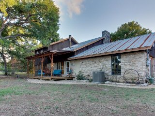 Dog-friendly home w/ private pool, deck, firepit, & more - perfect for families!