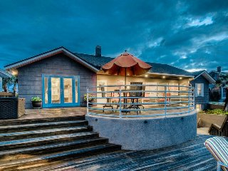Oceanfront home with large decks offering great views!