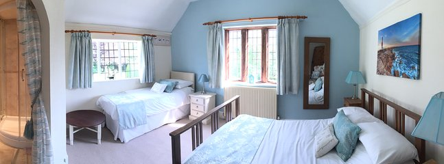 Bedroom 2 Ensuite. Double +Single bed