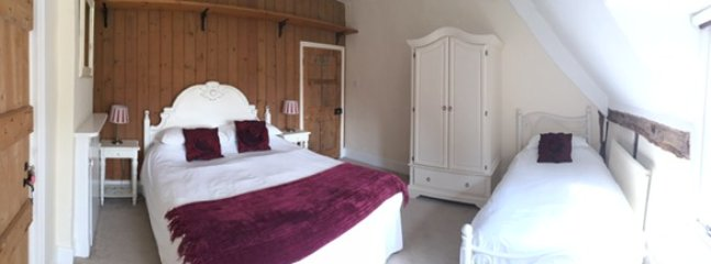 Bedroom 4 at Home Farmhouse Strensham Worcs