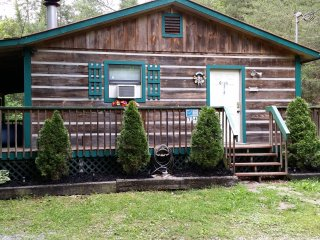 Secluded Mountain Getaway !! 2 Bedroom, 1 Bath, Sleeps 6, Hot Tub, FP, WIFI