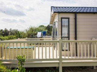 20304 Broadlands, 3 Bed, 8 Berth. Stunning Seaview from the lounge