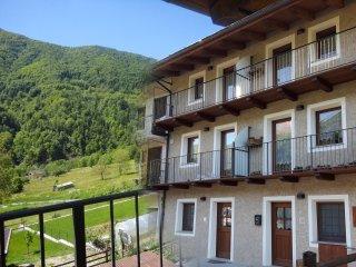 I CICLAMINI casa vacanze chalet baita 8 posti relax natura montagna alpi Monviso
