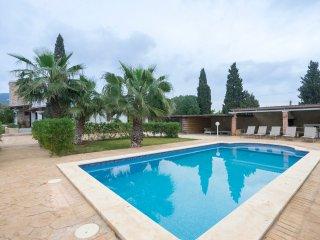 Can Mota, confortable villa con piscina