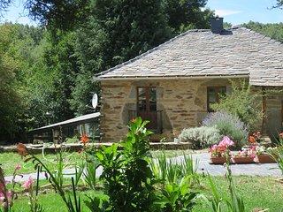 Molino de montaña. Casa rural