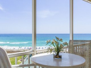 Newly Renovated Kitchen! Private Balcony from 612 Overlooking The Gulf!