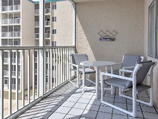 Newly renovated gorgeous 1 BR  condo #416 provides stunning gulf-front views!