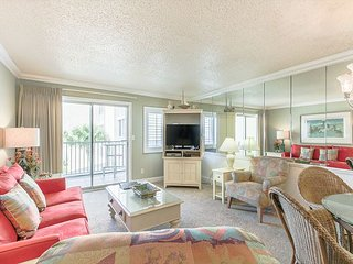 Watch dolphins surf the waves from your very own private balcony! #313