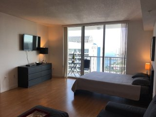 Large Studio at Opera Tower Condo with Bay View!