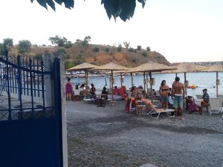 Seafront Villa Matina in Sambatiki directly on the beach