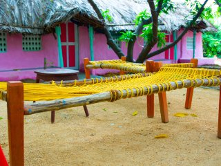 Wego Gardens : Exotic Huts - Just around 2 KMs from Temple