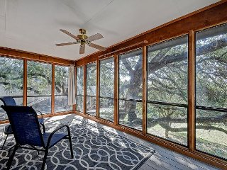 Nicely Updated 3BR on Lake Travis – Private Boat Slip & Large Shady Backyard