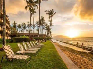 Island Vibe w/Modern Kitchen, Flat Screen, WiFi, Lanai, Ceiling Fans–Paki Maui