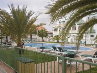 Ground floor, spacious one bedroom apartment with balcony and large terrace.