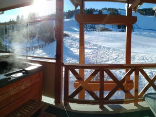 Meadowbrook Chalet, Private Hot Tub, True Ski in/Ski Out, Stay 3 nts & Pay for 3