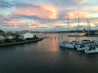 Appartement belle vue sur bateaux