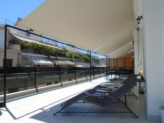 The Lovely Terrace next Hilton, Athens Centre, Free Transfer