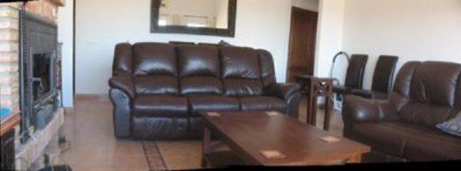 Comfortable reclining sofa