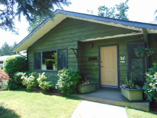 House in nice residential area. Close to ferries, airport, and Victoria city BC.