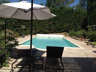 Villa avec piscine, campagne d'Aix-en-Provence