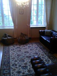 The dual aspect lounge