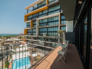 a Luxury Duplex 3BR Apartments, Pool,Gym,Parking,Sea view