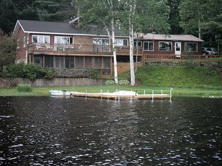Every room has a great view of the lake. 2 of the bedrooms have there own private entrance to deck.