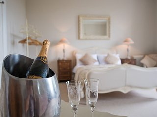 The Provencale Room at No 2 Broadgate B&B . Luxury boutique bed and breakfast.