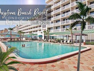 $pecials - Daytona Beach Resort Condo - Oceanview - 1BR/1BA - #203