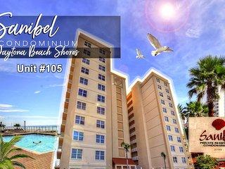 Sanibel Condominium -Oceanfront Unit - 3BR/3BA - #105