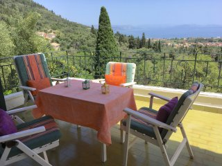 Sea view family house  in Corfu  historical village Ag.Marcos