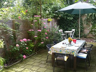 Cozy Garden Apartment Central Amsterdam