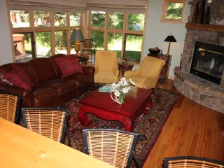 Location, Privacy and Upgrades!  Golf/Tennis/Pool Summer!  Ski In/Out Winter!