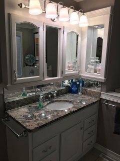 Main-level Bathroom Sink